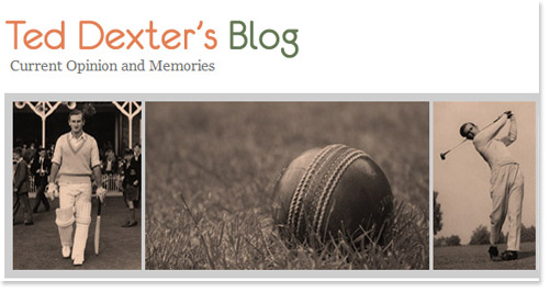 Ted Dexter's Blog